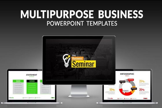 Business Models: Biz Idea PowerPoint Presentation Template #06416