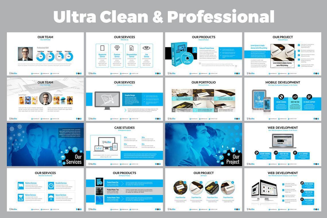 Biz Idea PowerPoint Presentation Template, Slide 3, 06416, Business Models — PoweredTemplate.com