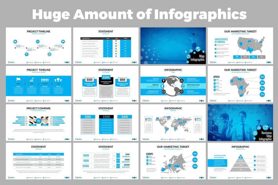Biz Idea PowerPoint Presentation Template, Slide 4, 06416, Business Models — PoweredTemplate.com
