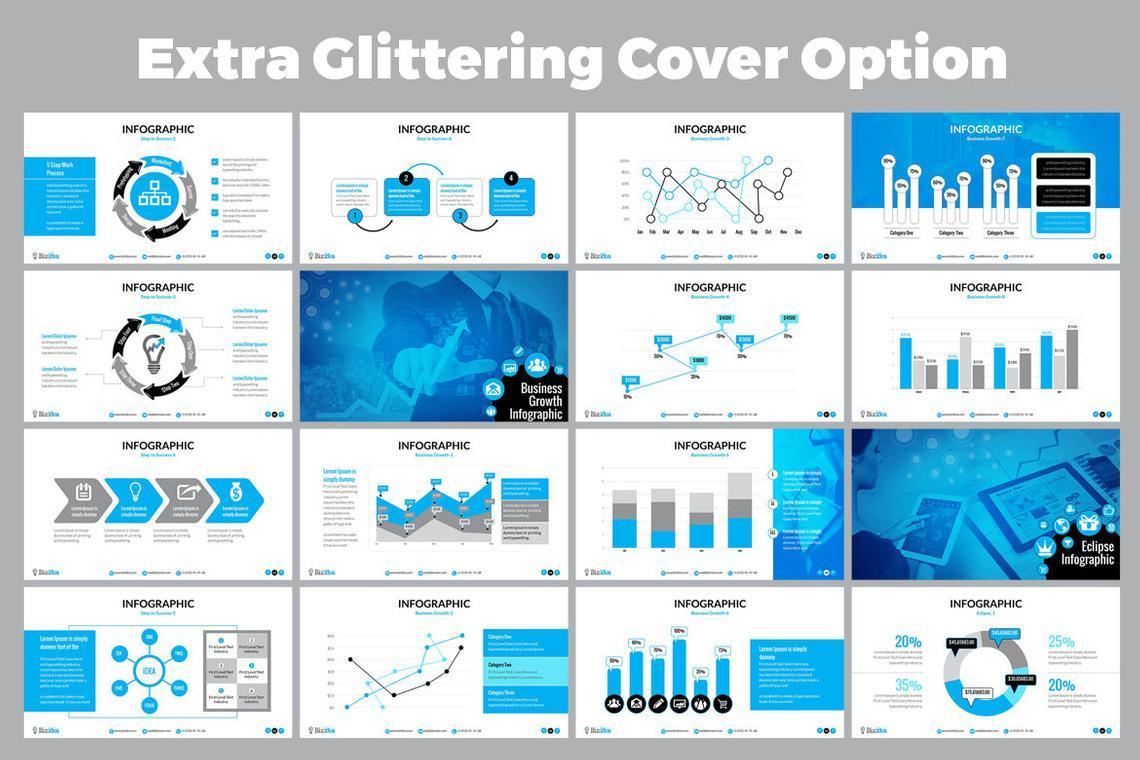 Biz Idea PowerPoint Presentation Template, Slide 5, 06416, Business Models — PoweredTemplate.com