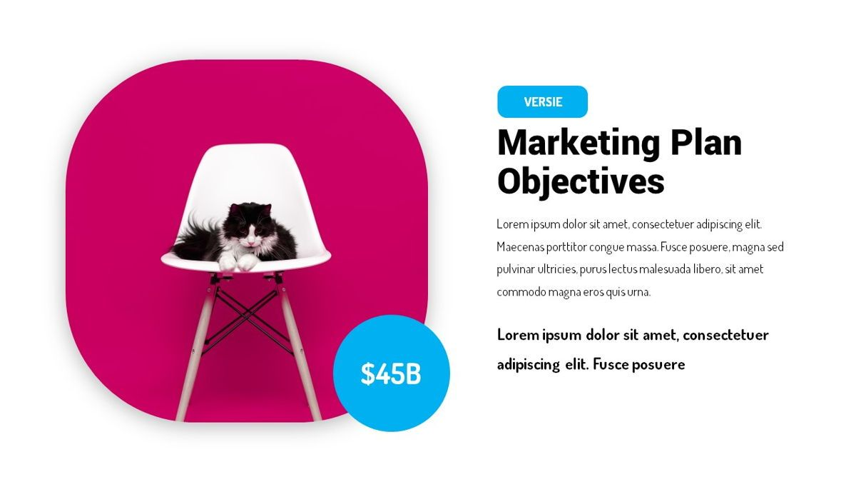 Versie - Fluid Style Powerpoint Template, Slide 11, 06418, Business Models — PoweredTemplate.com