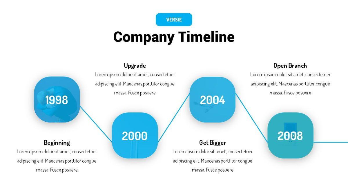 Versie - Fluid Style Powerpoint Template, Slide 12, 06418, Business Models — PoweredTemplate.com