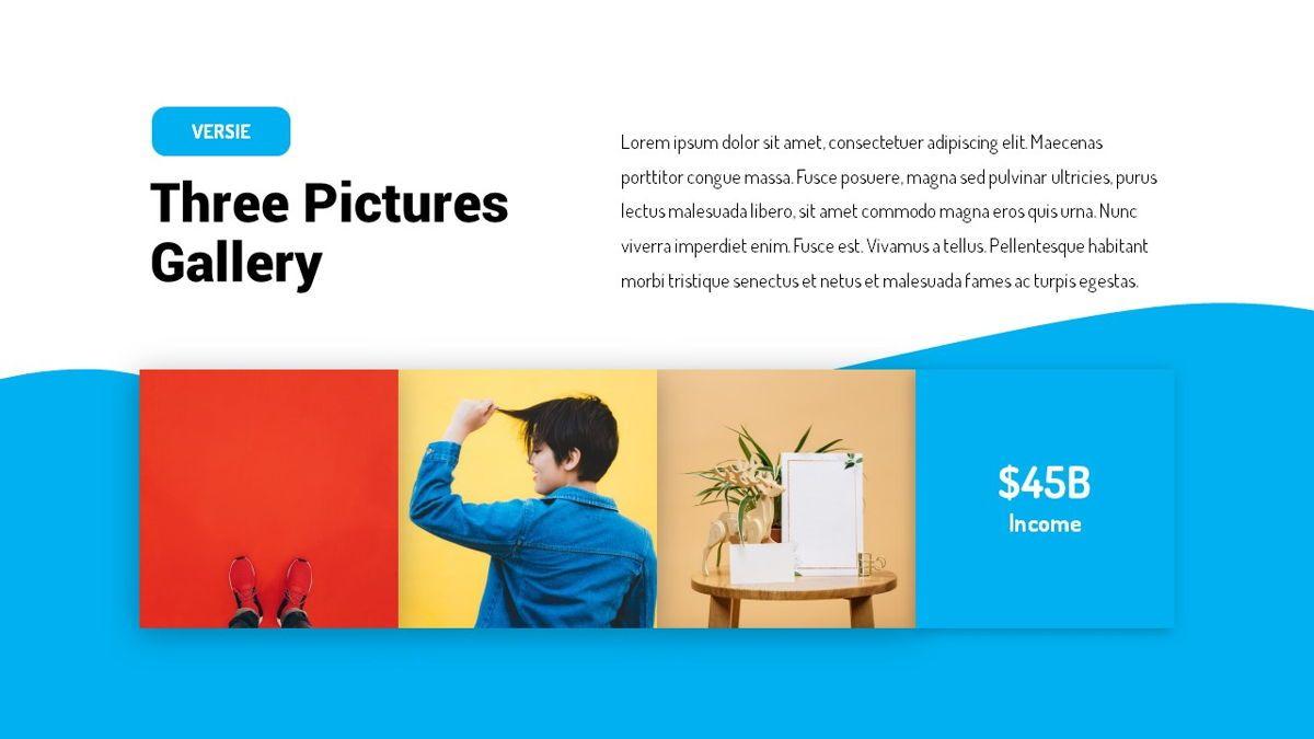 Versie - Fluid Style Powerpoint Template, Slide 19, 06418, Business Models — PoweredTemplate.com