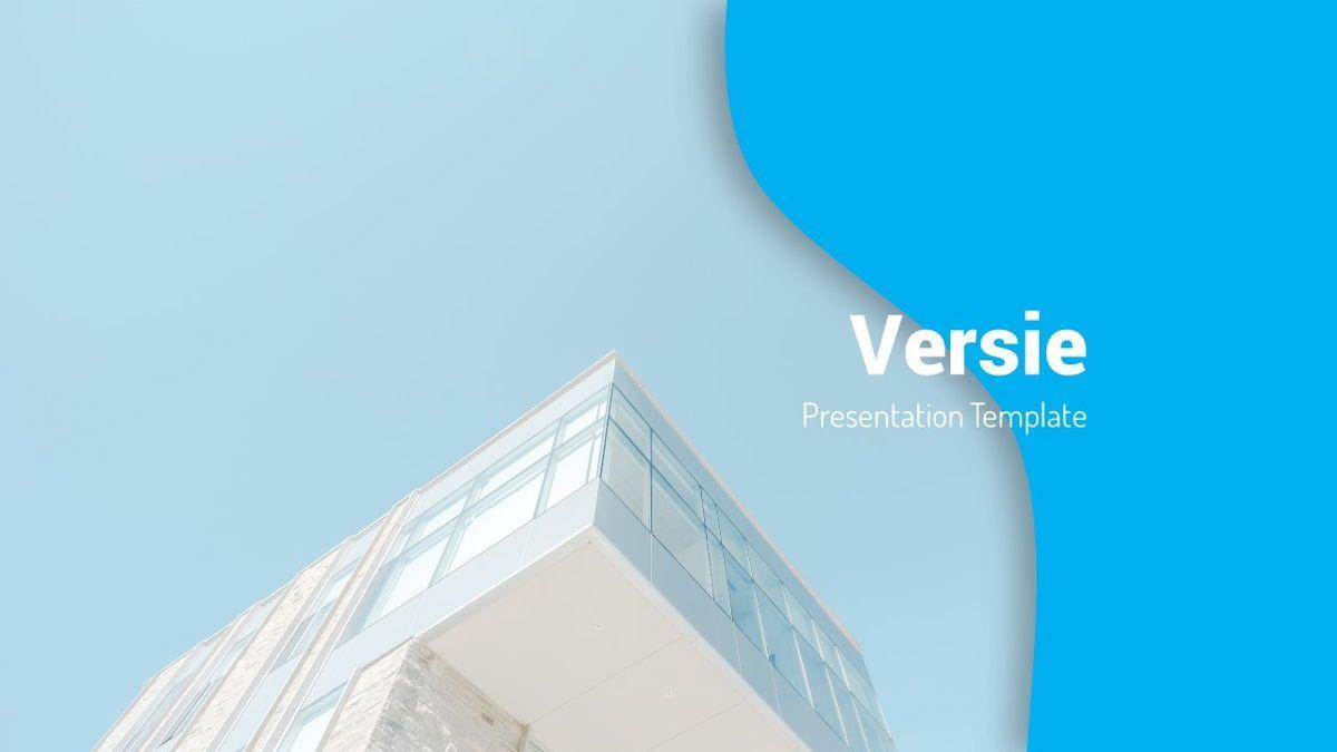 Versie - Fluid Style Powerpoint Template, Slide 2, 06418, Business Models — PoweredTemplate.com