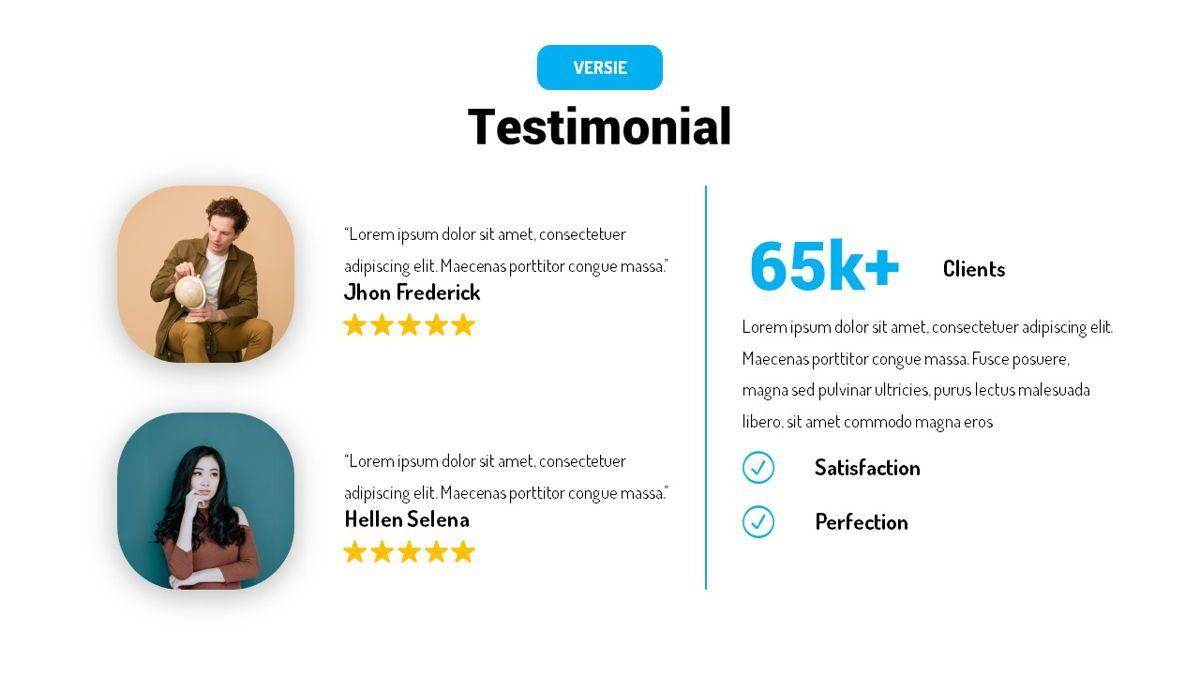 Versie - Fluid Style Powerpoint Template, Slide 24, 06418, Business Models — PoweredTemplate.com