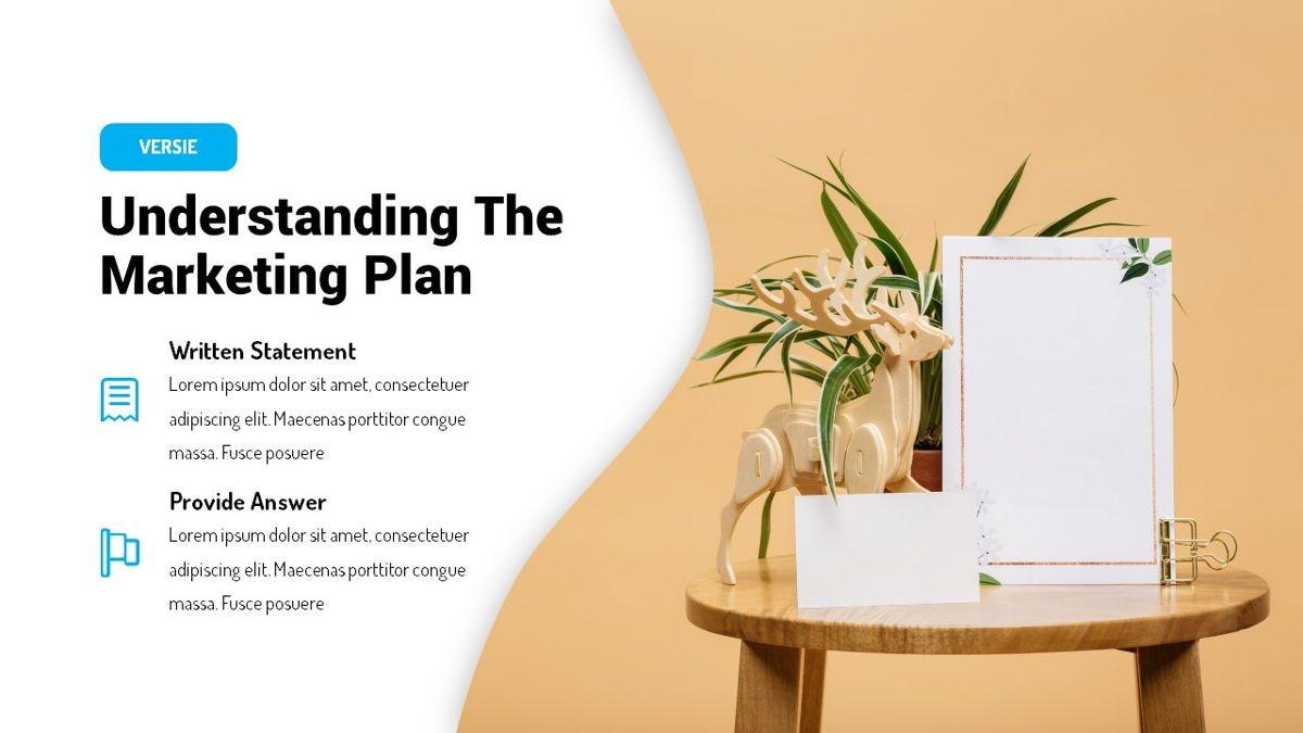 Versie - Fluid Style Powerpoint Template, Slide 8, 06418, Business Models — PoweredTemplate.com
