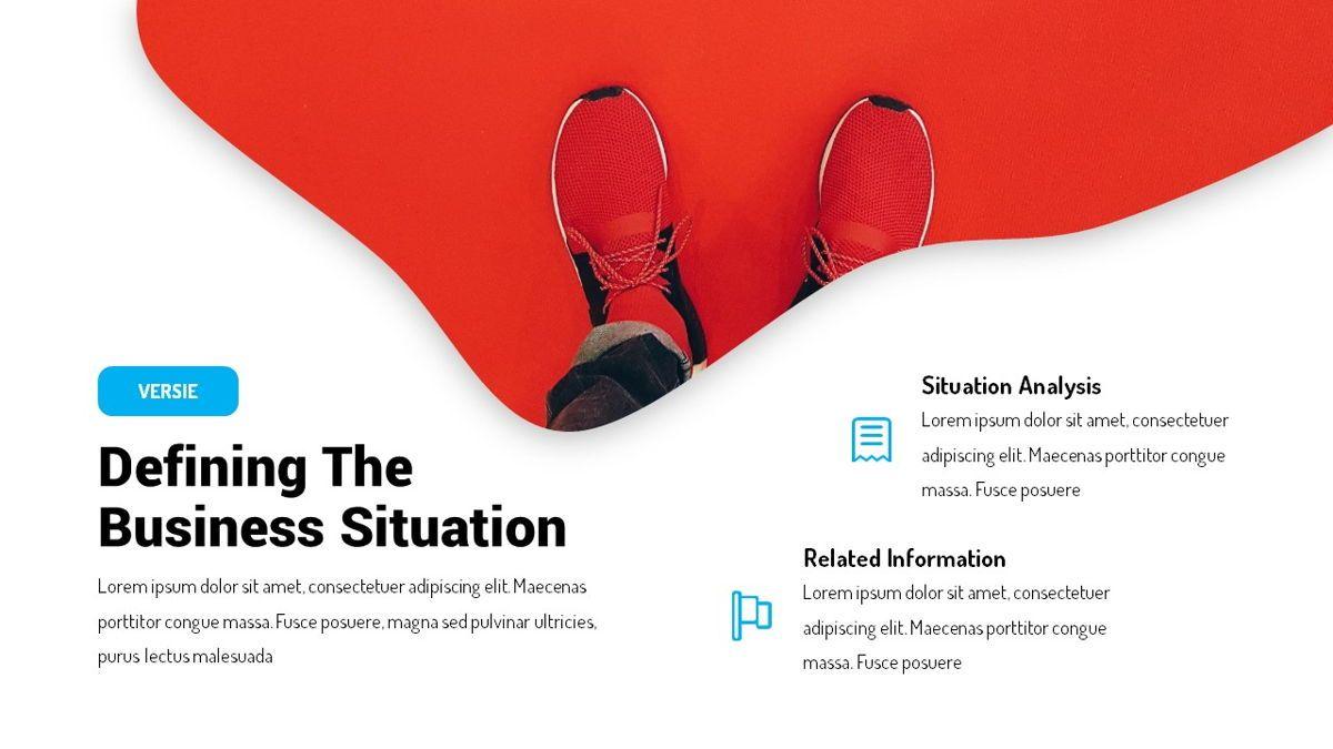 Versie - Fluid Style Powerpoint Template, Slide 9, 06418, Business Models — PoweredTemplate.com