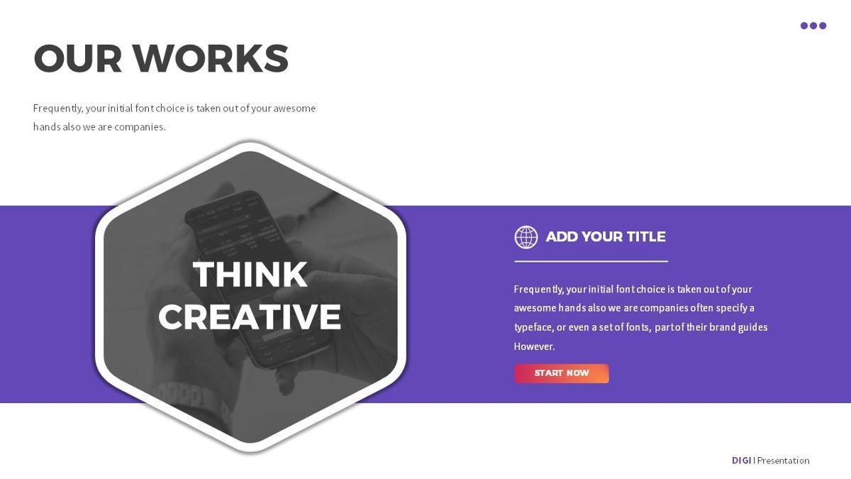 Digi - Digital Powerpoint Template, Slide 13, 06419, Business Models — PoweredTemplate.com