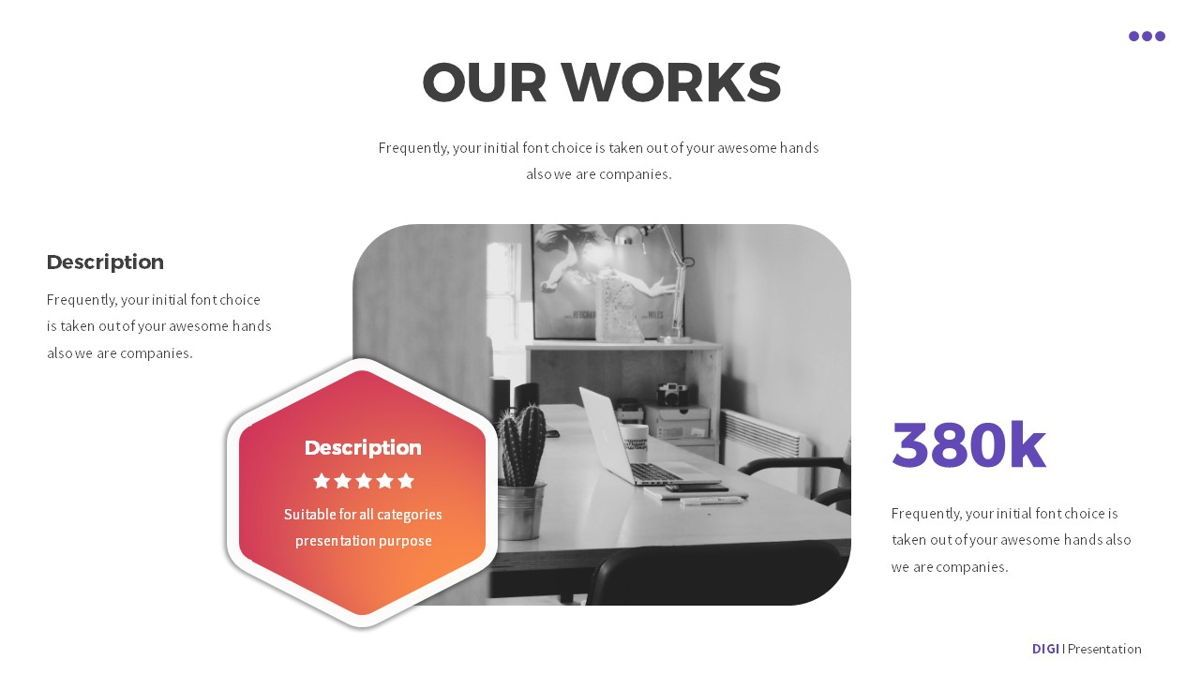 Digi - Digital Powerpoint Template, Slide 15, 06419, Business Models — PoweredTemplate.com
