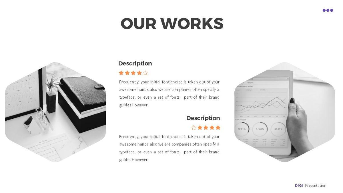Digi - Digital Powerpoint Template, Slide 16, 06419, Business Models — PoweredTemplate.com