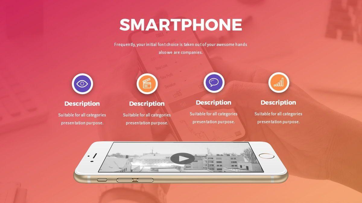 Digi - Digital Powerpoint Template, Slide 18, 06419, Business Models — PoweredTemplate.com