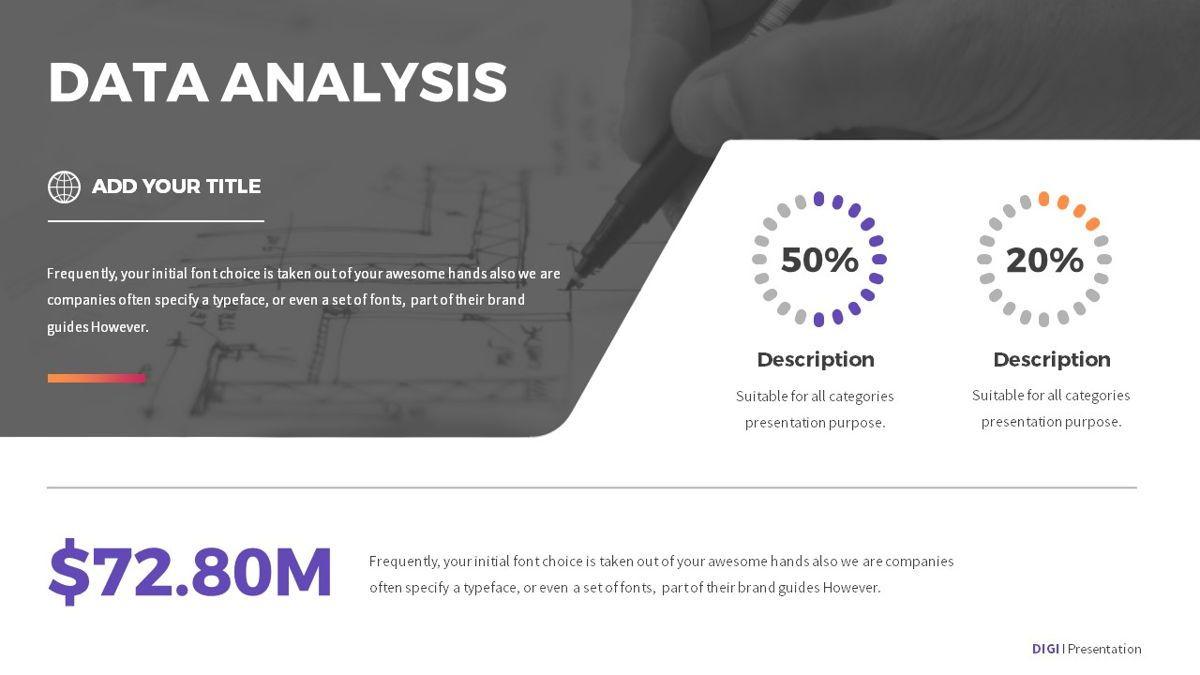 Digi - Digital Powerpoint Template, Slide 22, 06419, Business Models — PoweredTemplate.com