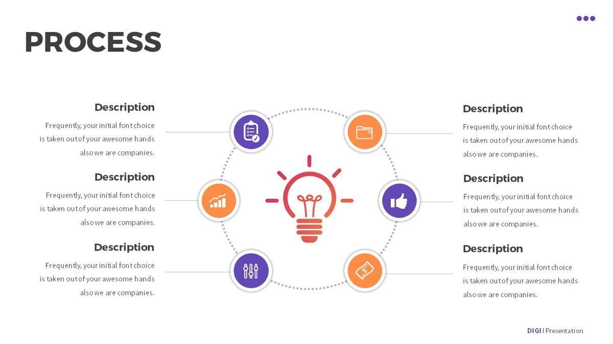 Digi - Digital Powerpoint Template, Slide 24, 06419, Business Models — PoweredTemplate.com