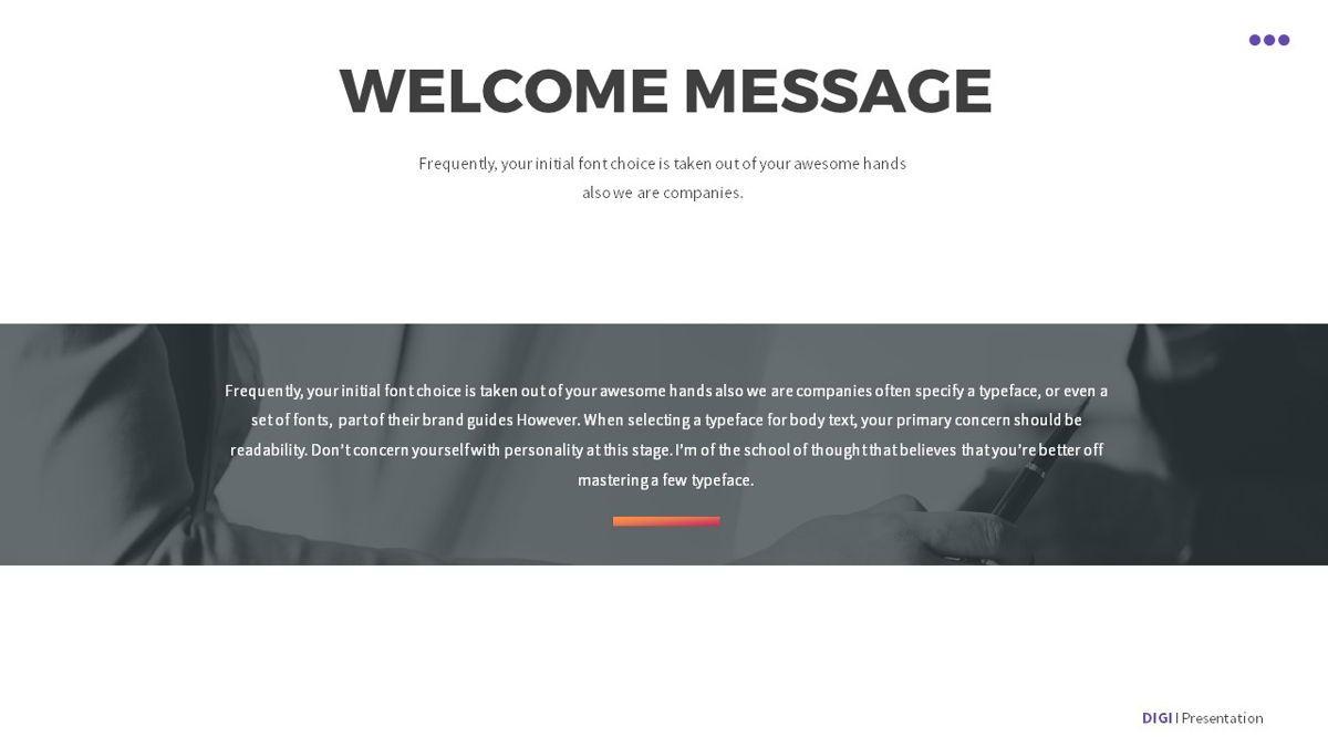 Digi - Digital Powerpoint Template, Slide 3, 06419, Business Models — PoweredTemplate.com