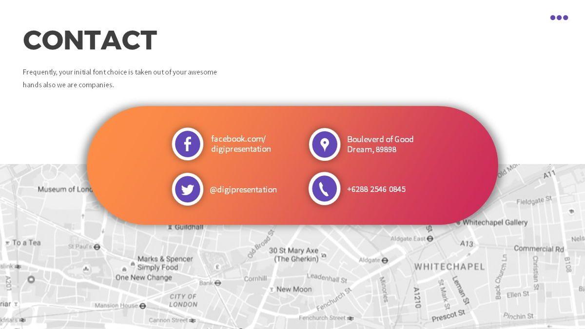 Digi - Digital Powerpoint Template, Slide 30, 06419, Business Models — PoweredTemplate.com