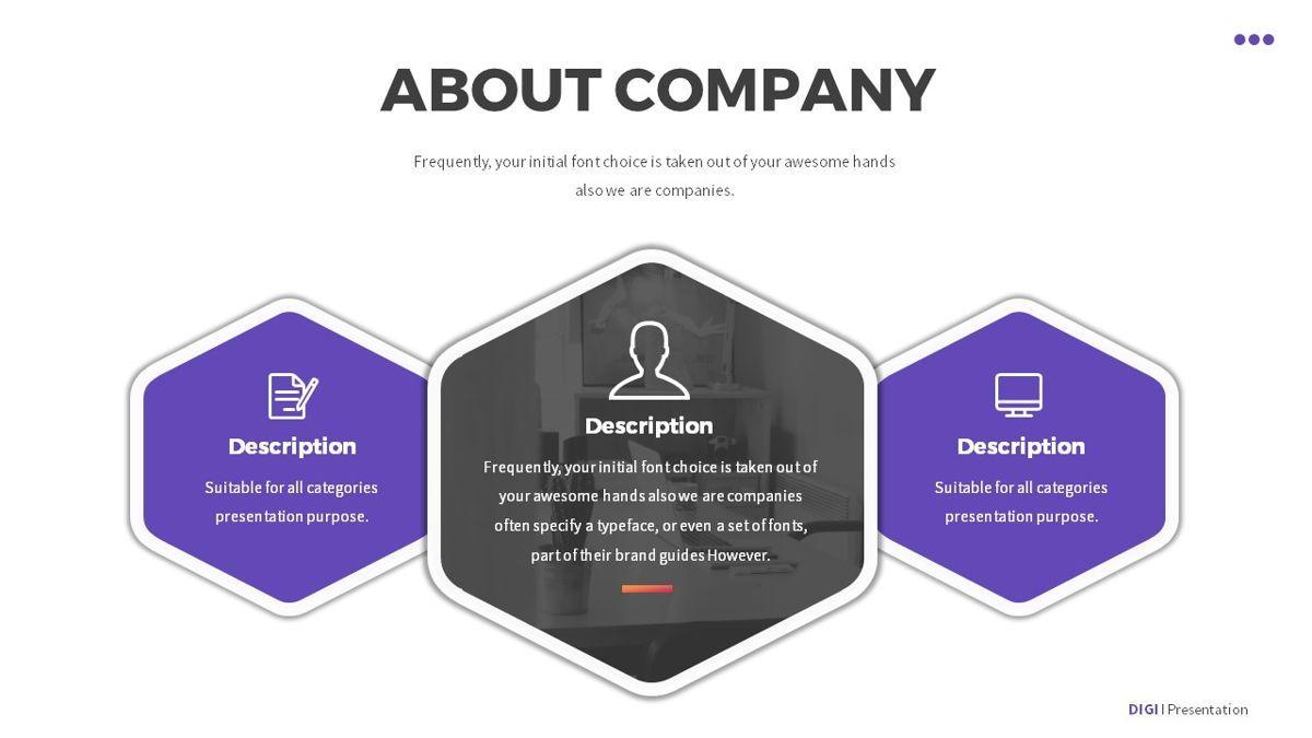 Digi - Digital Powerpoint Template, Slide 4, 06419, Business Models — PoweredTemplate.com