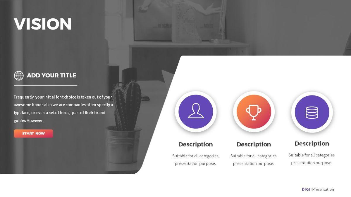 Digi - Digital Powerpoint Template, Slide 5, 06419, Business Models — PoweredTemplate.com