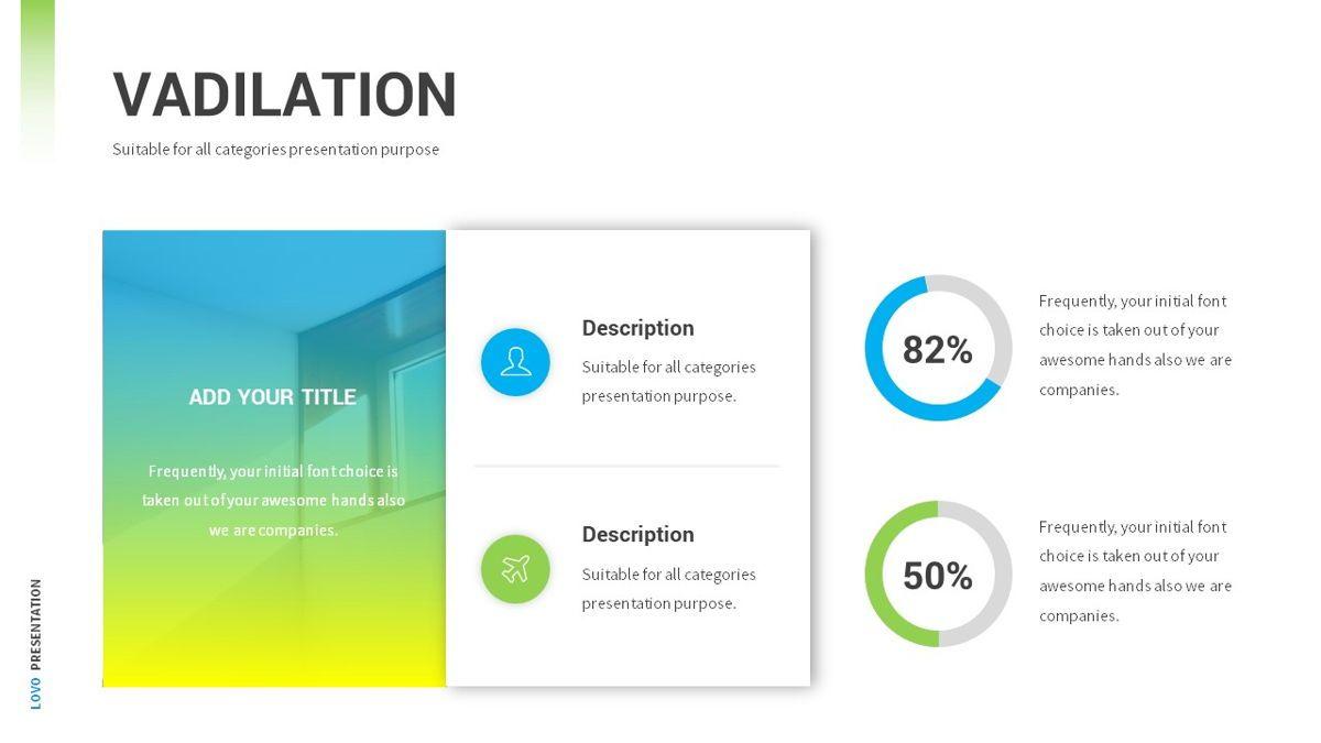 Lovo - Minimal Gradient Powerpoint Template, Slide 10, 06420, Business Models — PoweredTemplate.com