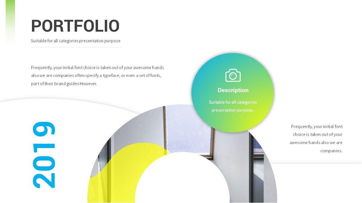 Lovo - Minimal Gradient Powerpoint Template, Slide 14, 06420, Business Models — PoweredTemplate.com