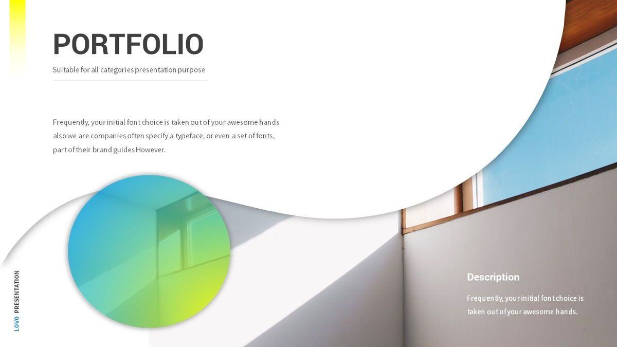 Lovo - Minimal Gradient Powerpoint Template, Slide 15, 06420, Business Models — PoweredTemplate.com