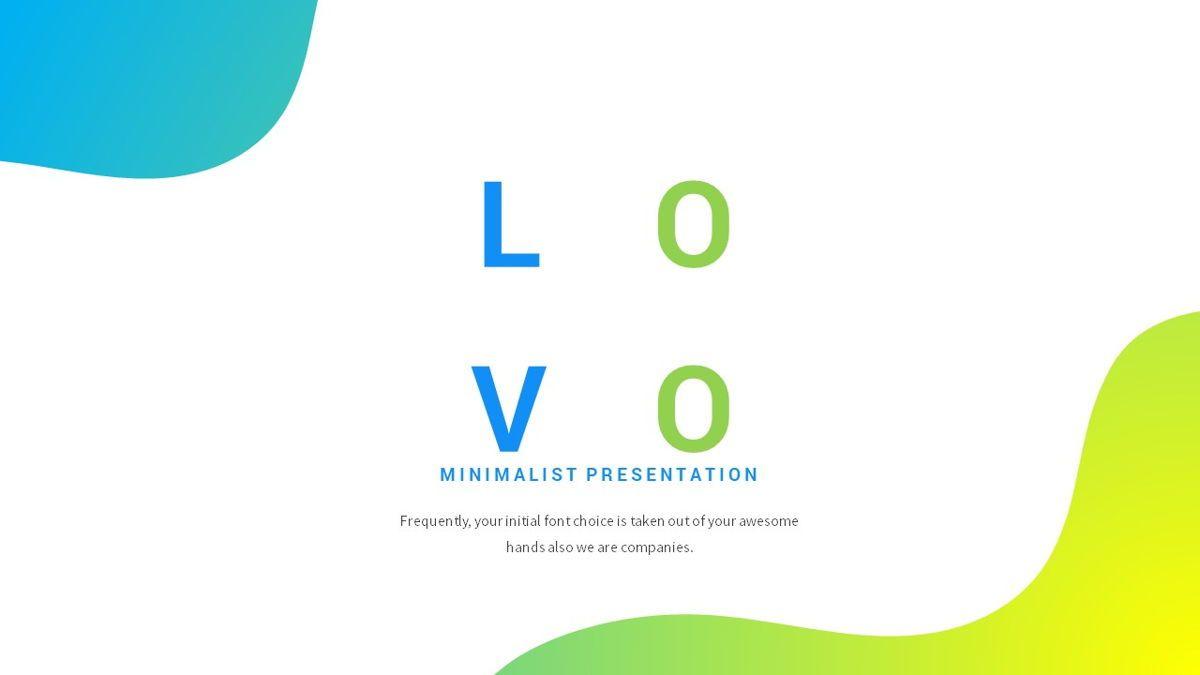 Lovo - Minimal Gradient Powerpoint Template, Slide 2, 06420, Business Models — PoweredTemplate.com