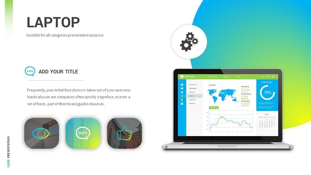 Lovo - Minimal Gradient Powerpoint Template, Slide 20, 06420, Business Models — PoweredTemplate.com