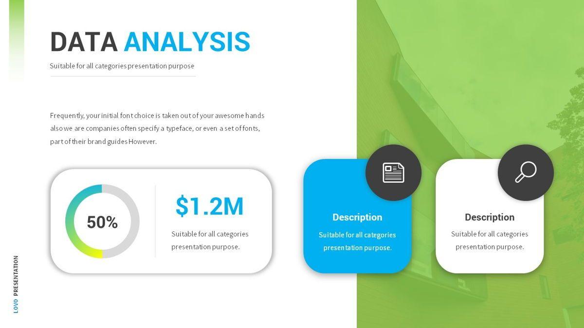 Lovo - Minimal Gradient Powerpoint Template, Slide 23, 06420, Business Models — PoweredTemplate.com