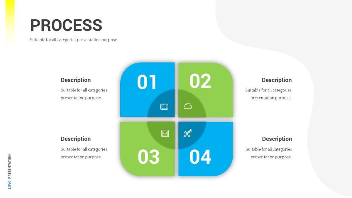 Lovo - Minimal Gradient Powerpoint Template, Slide 24, 06420, Business Models — PoweredTemplate.com