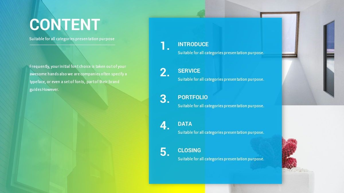 Lovo - Minimal Gradient Powerpoint Template, Slide 6, 06420, Business Models — PoweredTemplate.com