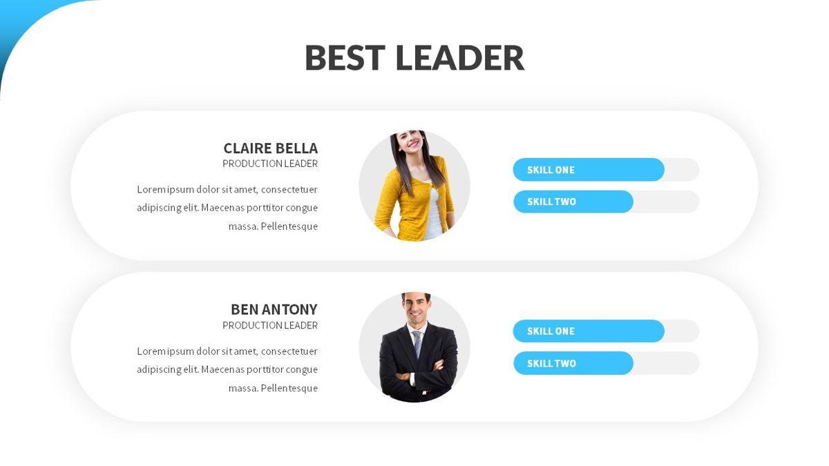 Besto - Abstract Powerpoint Template, Slide 16, 06421, Business Models — PoweredTemplate.com