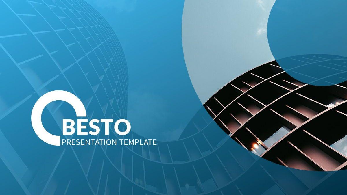 Besto - Abstract Powerpoint Template, Slide 2, 06421, Business Models — PoweredTemplate.com