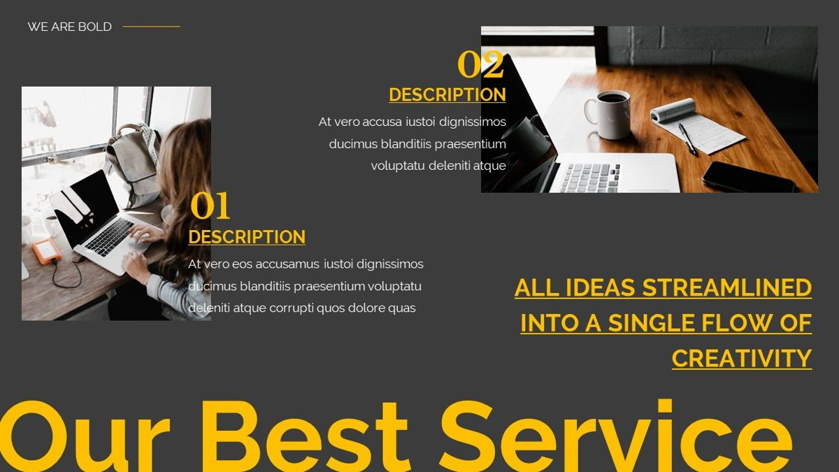 Remus - Bold Powerpoint Template, Slide 11, 06423, Business Models — PoweredTemplate.com