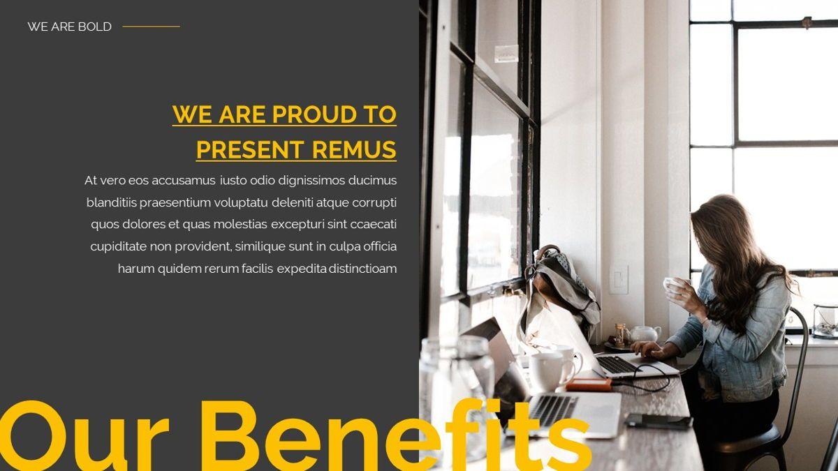 Remus - Bold Powerpoint Template, Slide 12, 06423, Business Models — PoweredTemplate.com