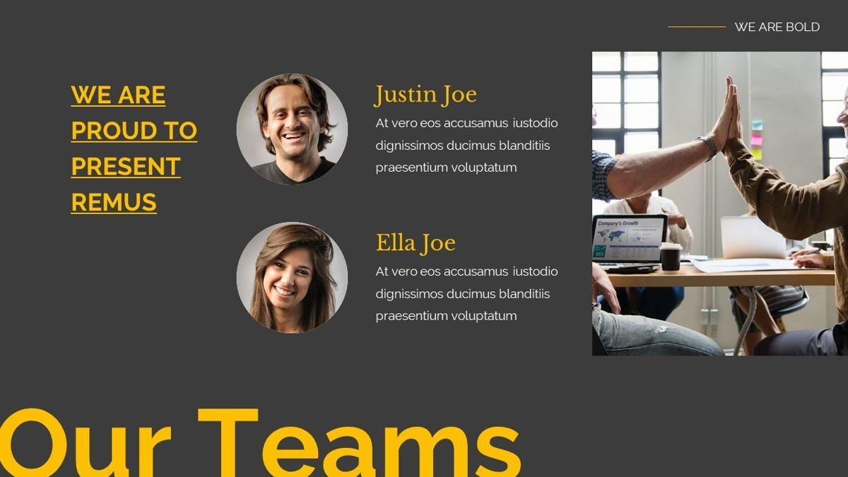 Remus - Bold Powerpoint Template, Slide 18, 06423, Business Models — PoweredTemplate.com