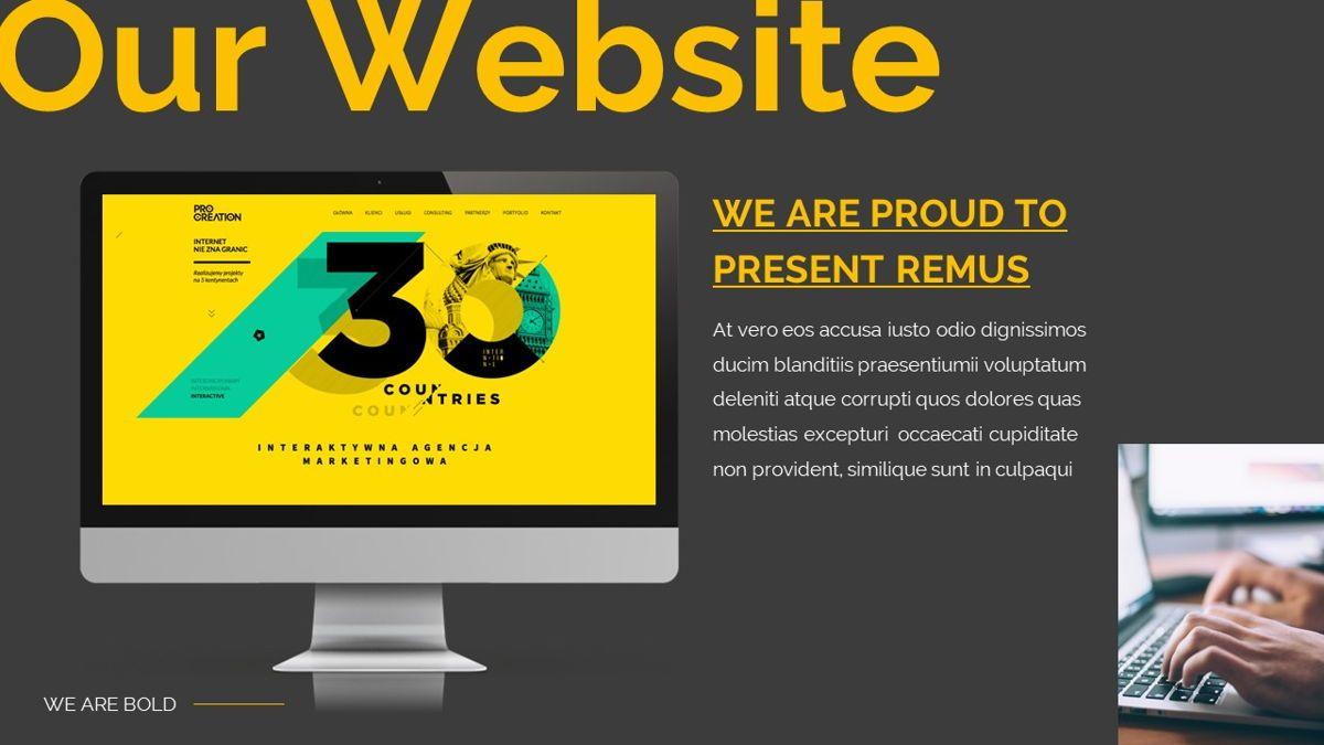 Remus - Bold Powerpoint Template, Slide 28, 06423, Business Models — PoweredTemplate.com