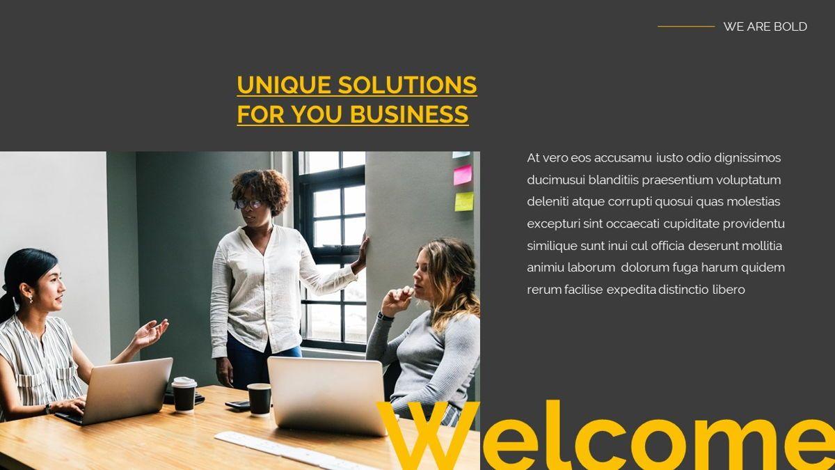 Remus - Bold Powerpoint Template, Slide 3, 06423, Business Models — PoweredTemplate.com