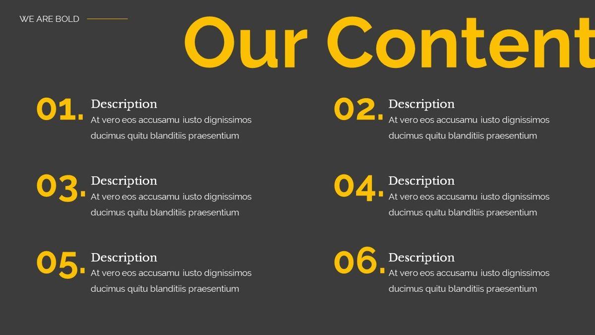 Remus - Bold Powerpoint Template, Slide 4, 06423, Business Models — PoweredTemplate.com