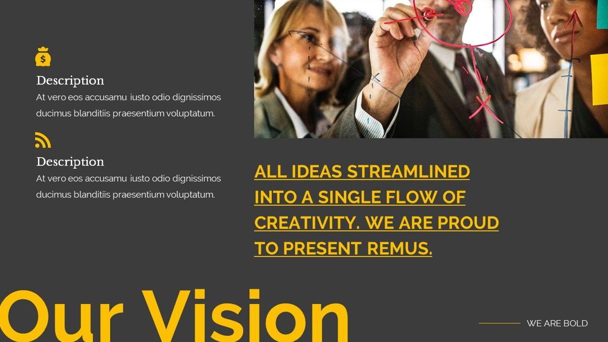 Remus - Bold Powerpoint Template, Slide 7, 06423, Business Models — PoweredTemplate.com