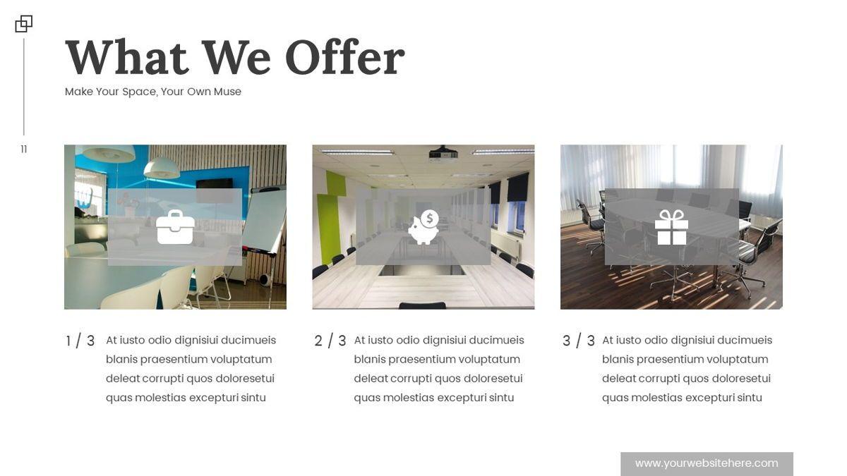 Altar - Creative Space Powerpoint Template, Slide 12, 06425, Business Models — PoweredTemplate.com