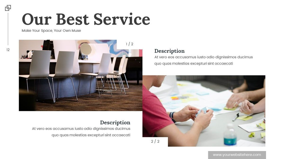 Altar - Creative Space Powerpoint Template, Slide 13, 06425, Business Models — PoweredTemplate.com