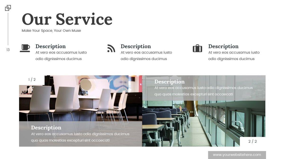 Altar - Creative Space Powerpoint Template, Slide 14, 06425, Business Models — PoweredTemplate.com
