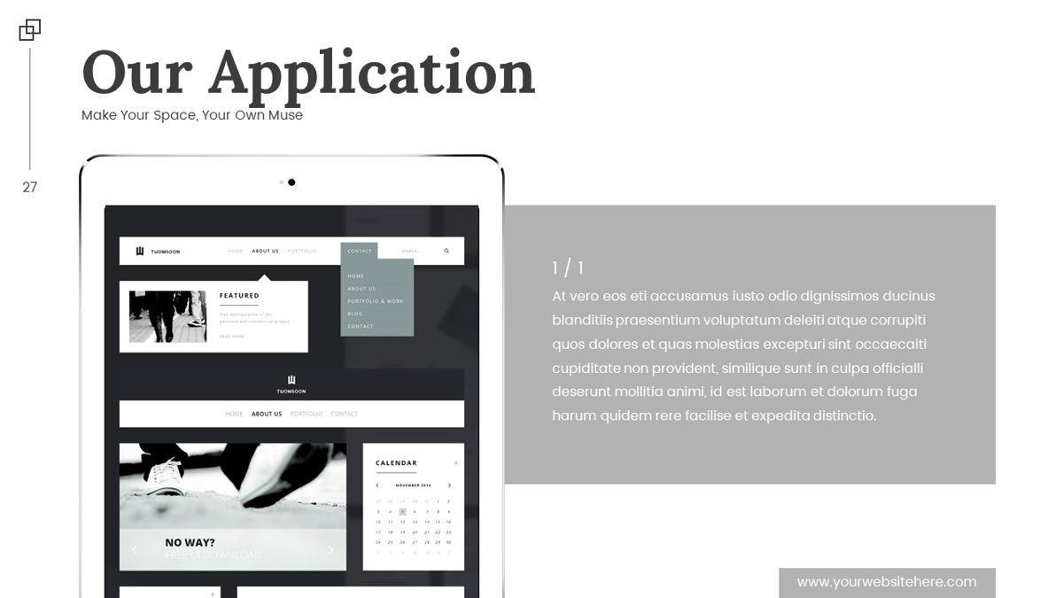 Altar - Creative Space Powerpoint Template, Slide 28, 06425, Business Models — PoweredTemplate.com