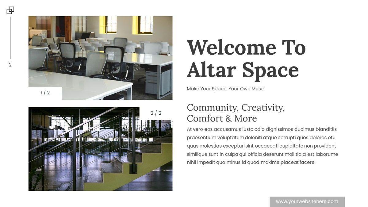 Altar - Creative Space Powerpoint Template, Slide 3, 06425, Business Models — PoweredTemplate.com