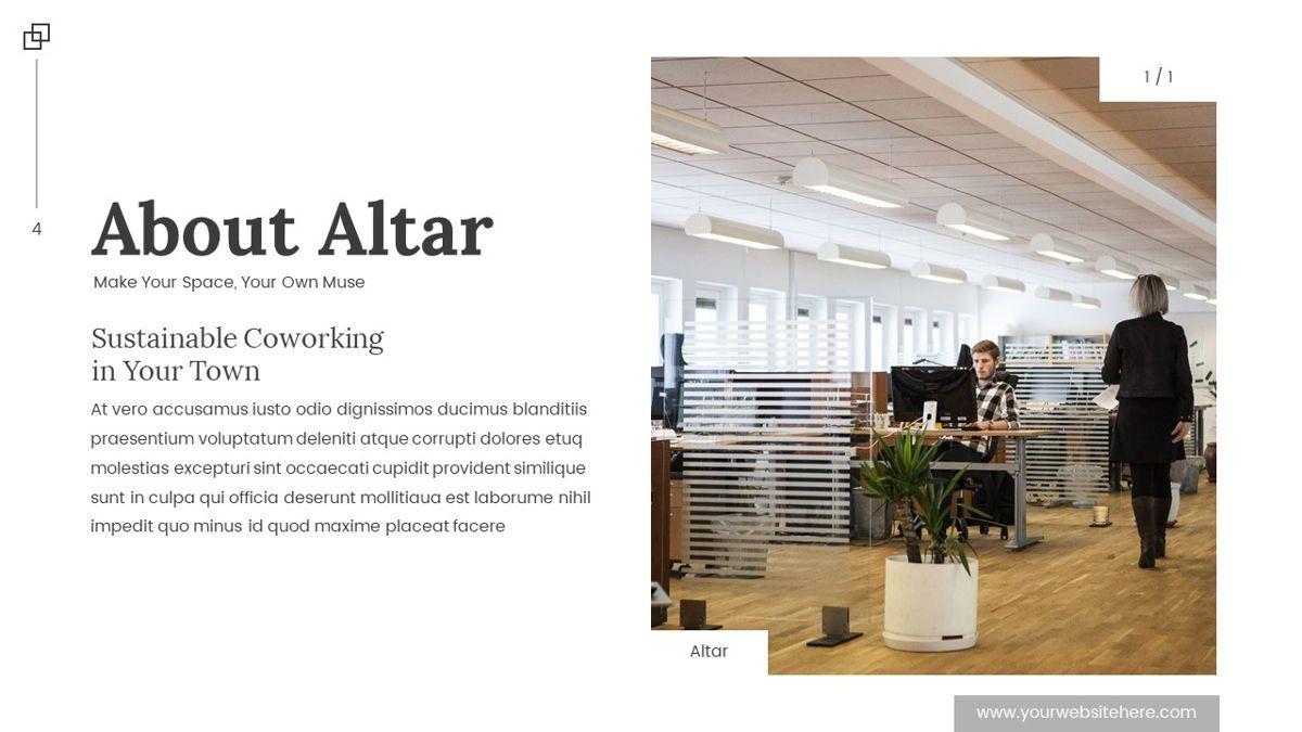 Altar - Creative Space Powerpoint Template, Slide 5, 06425, Business Models — PoweredTemplate.com