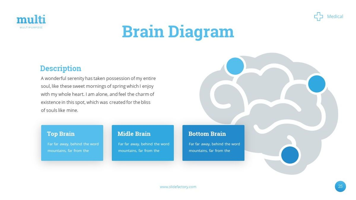 MultiMedical - Powerpoint Presentation Template, Slide 26, 06426, Data Driven Diagrams and Charts — PoweredTemplate.com