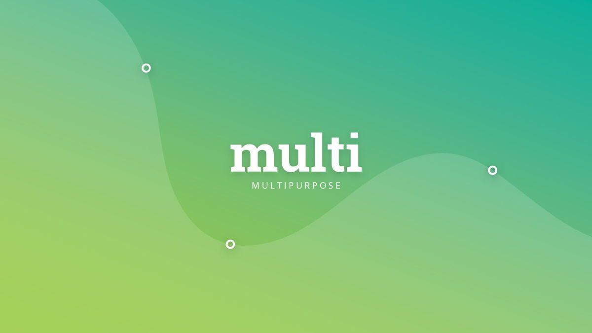 Multi - Multipurpose Powerpoint Template, Slide 2, 06427, Business Models — PoweredTemplate.com