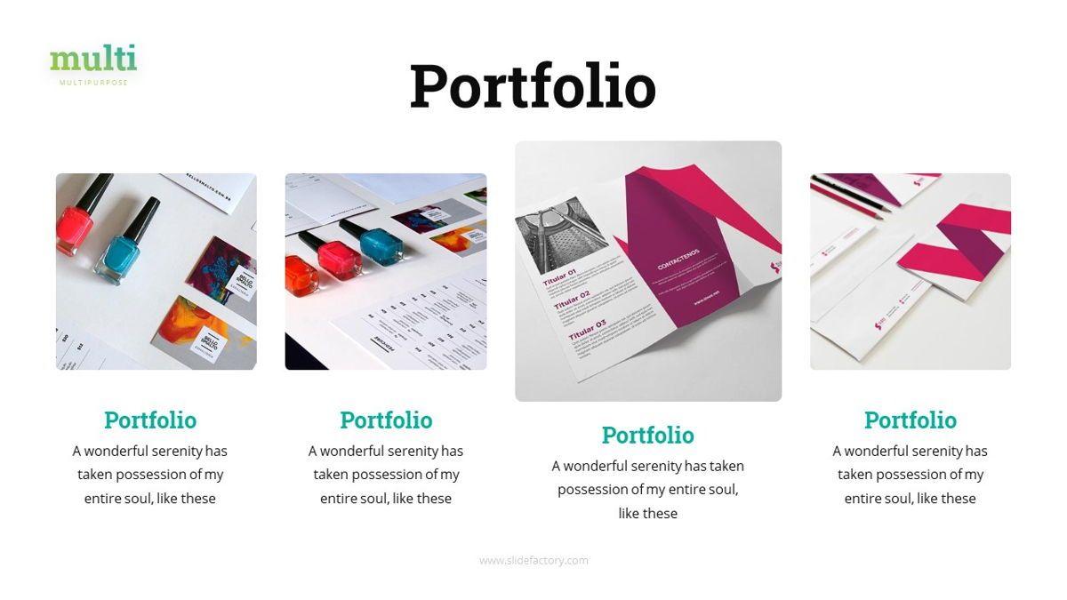 Multi - Multipurpose Powerpoint Template, Slide 20, 06427, Business Models — PoweredTemplate.com