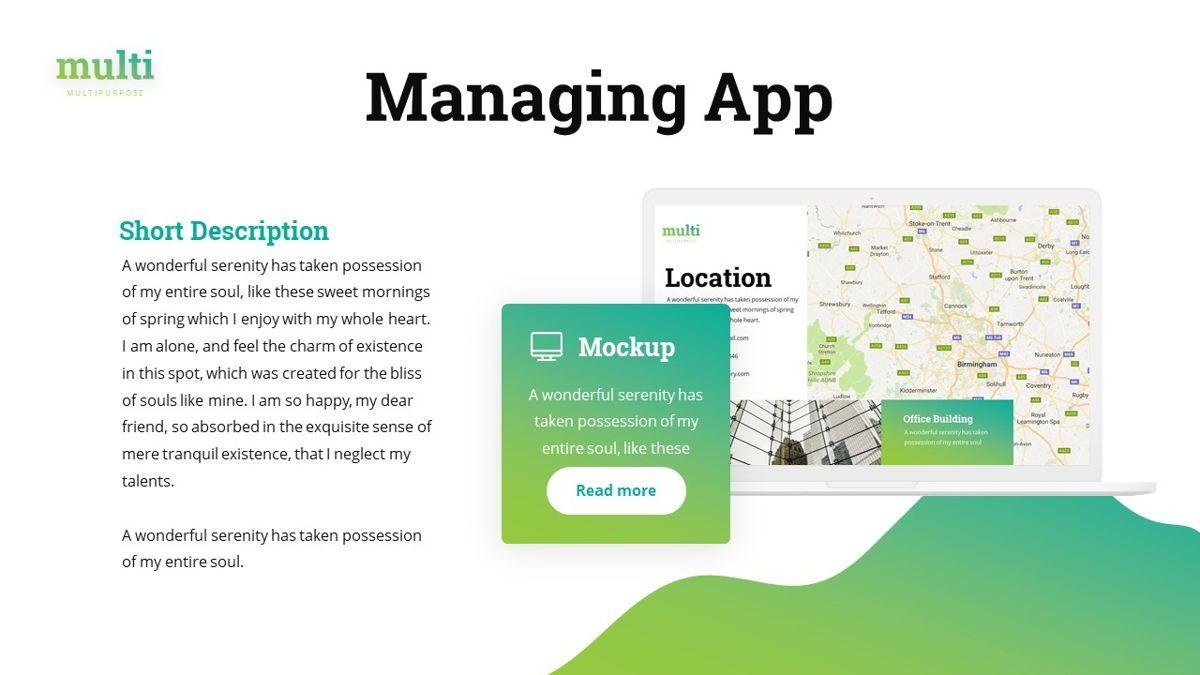Multi - Multipurpose Powerpoint Template, Slide 22, 06427, Business Models — PoweredTemplate.com