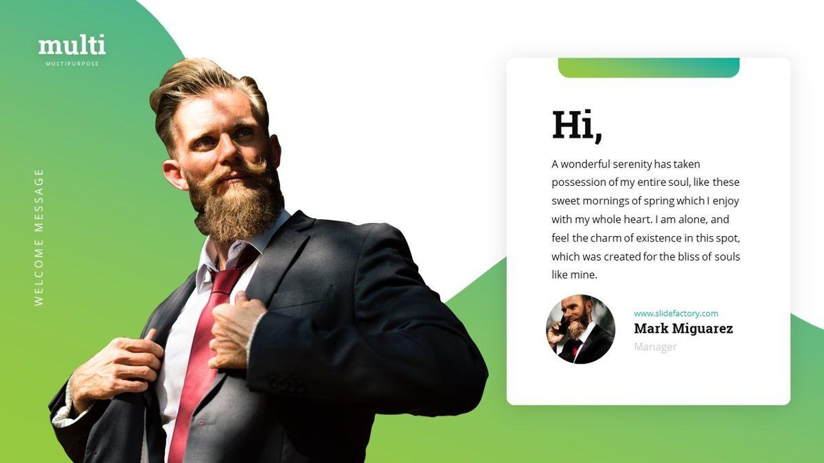 Multi - Multipurpose Powerpoint Template, Slide 4, 06427, Business Models — PoweredTemplate.com