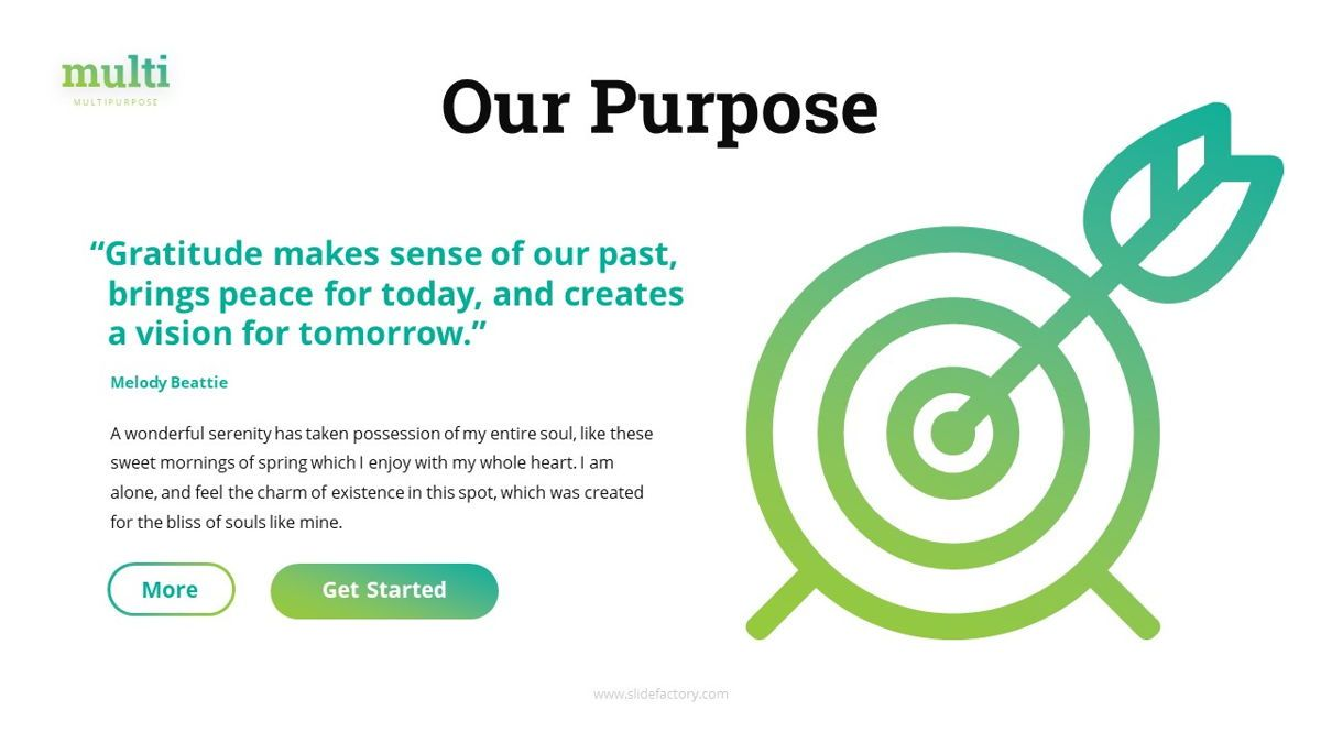 Multi - Multipurpose Powerpoint Template, Slide 9, 06427, Business Models — PoweredTemplate.com